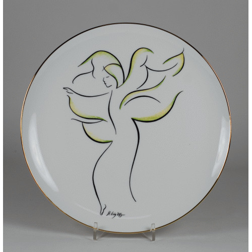 "Decorative plate ""Angel"""
