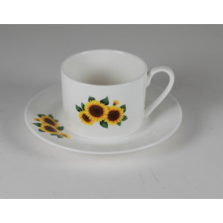 IZA cup - decoration sunflowers