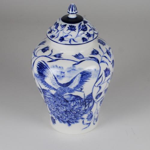 Cobalt amphora