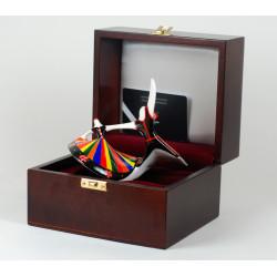 Wooden box for figurine Masovia