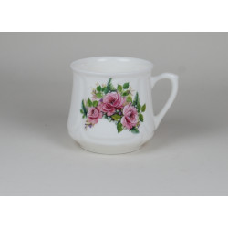 Silesian mug (small) - decoration three roses