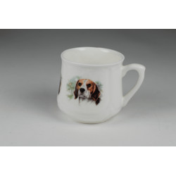 Silesian mug (small) - Beagle