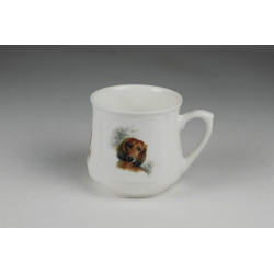 Silesian mug (small) - Long-haired daschund