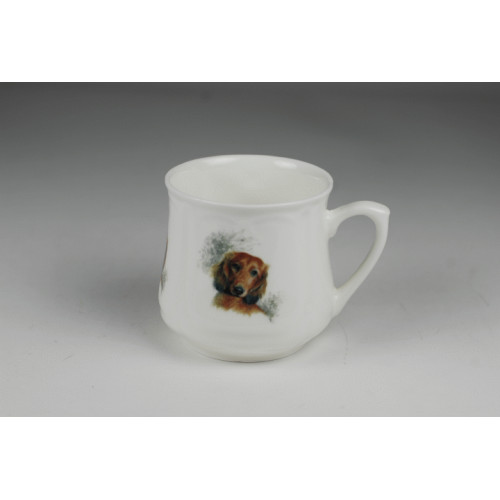 Silesian mug (small) - Long-haired daschund
