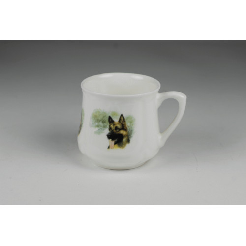 Silesian mug (small) - German Shepherd