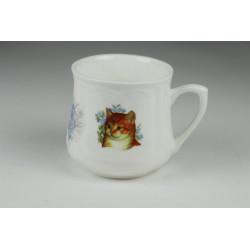 Silesian mug (small) - Red kitty