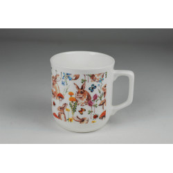 Cmielow mug - decoration Forrest bunny