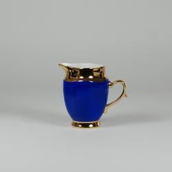 Mlecznik z serwisu Anna Maria (dekoracja szafirowo złota)