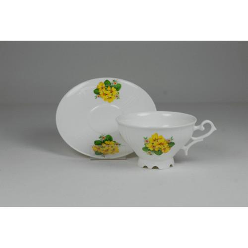Cmielow cup - decoration primulas