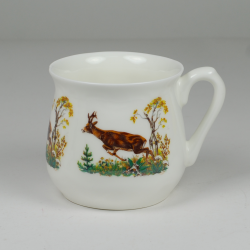 Silesian mug - decoration Deer II