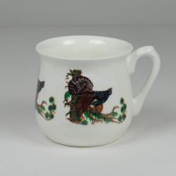 Silesian mug - decoration deer