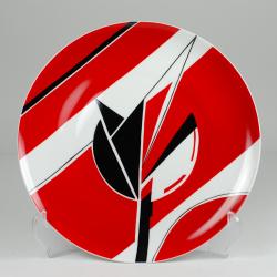 """Decorative plate """"Tulip"""""""