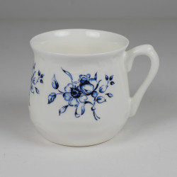 Silesian mug - decoration Blue flowers