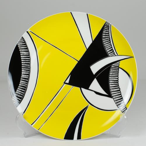 "Decorative plate ""Scalar fish"""