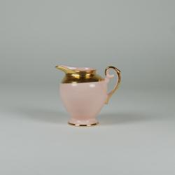 Mlecznik  Prometeusz - dekoracja relief (różowa porcelana)