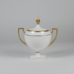 Sugar-bowl MATYLDA - with gold