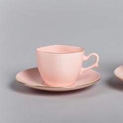 Filiżanka ANNA MARIA espresso i herbata (różowa porcelana)