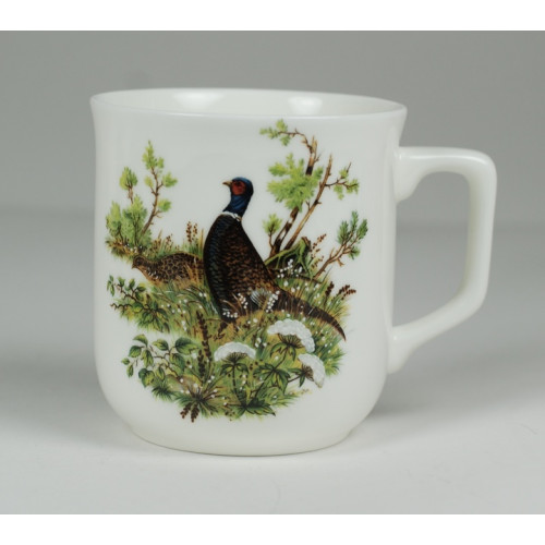Cmielow mug - decoration Pheasant
