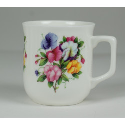 Cmielow mug - decoration Impatiens