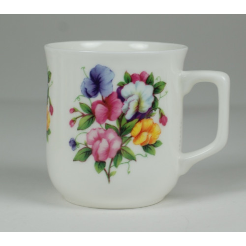 Cmielow mug - decoration Impatiens