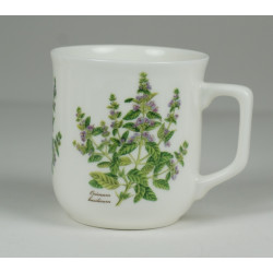 Cmielow mug - decoration Basil
