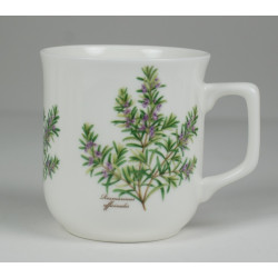 Cmielow mug - decoration Rosemary