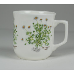 Cmielow mug - decoration Camomile