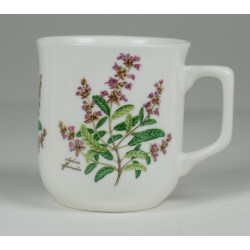 Cmielow mug - decoration Sage