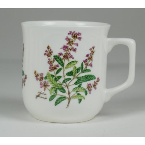 Cmielow mug - decoration Sage