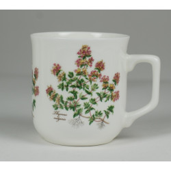 Cmielow mug - decoration Thyme