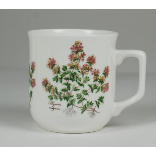 Cmielow mug - decoration Thyme