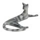 Leżąca kotka