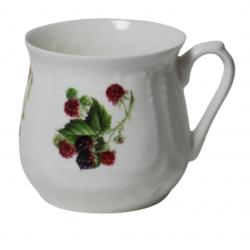 Silesian mug - decoration blackberries