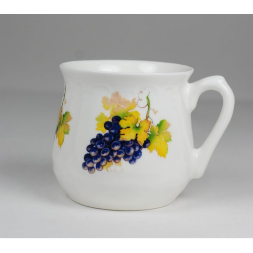 Silesian mug - decoration Grapes