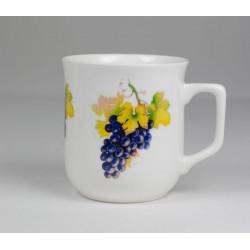 Cmielow mug - decoration Grapes