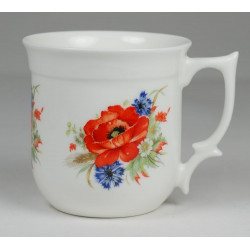 Grandma mug -  Poppy seeds and cornflower