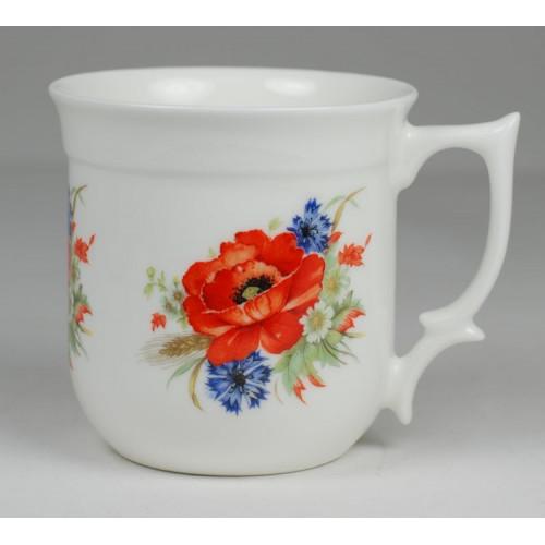 Grandma mug -  Poppy seeds and cornflower