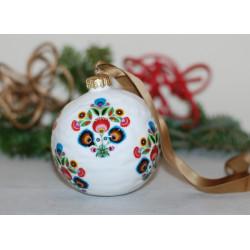 Bombka porcelanowa