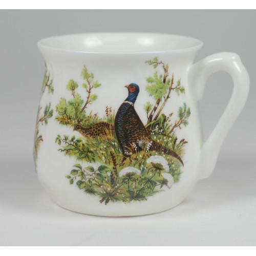 Silesian mug - decoration Pheasant