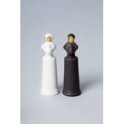 Porcelain Monkey Chess