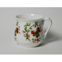 Silesian mug - decoration raspberries