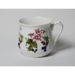 Silesian mug - decoration blackberries 2