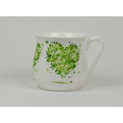 Silesian mug - decoration Hart four Seasons - Spring