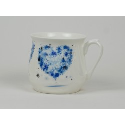 Silesian mug - decoration Hart four Seasons - Winter