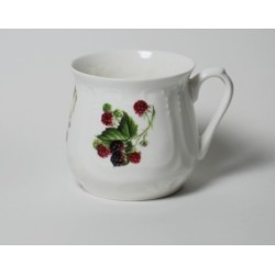 Silesian mug - decoration blackberries