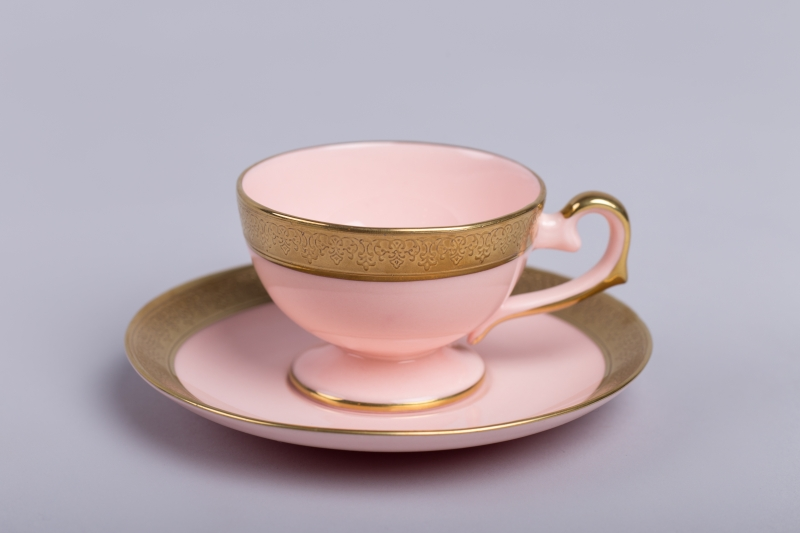 Filiżanka Prometeusz espresso z różow