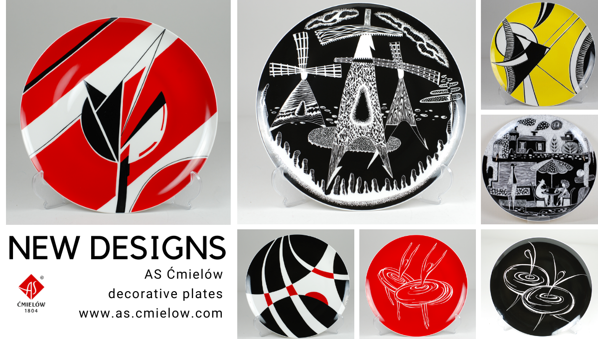 Decorative plates - new designs