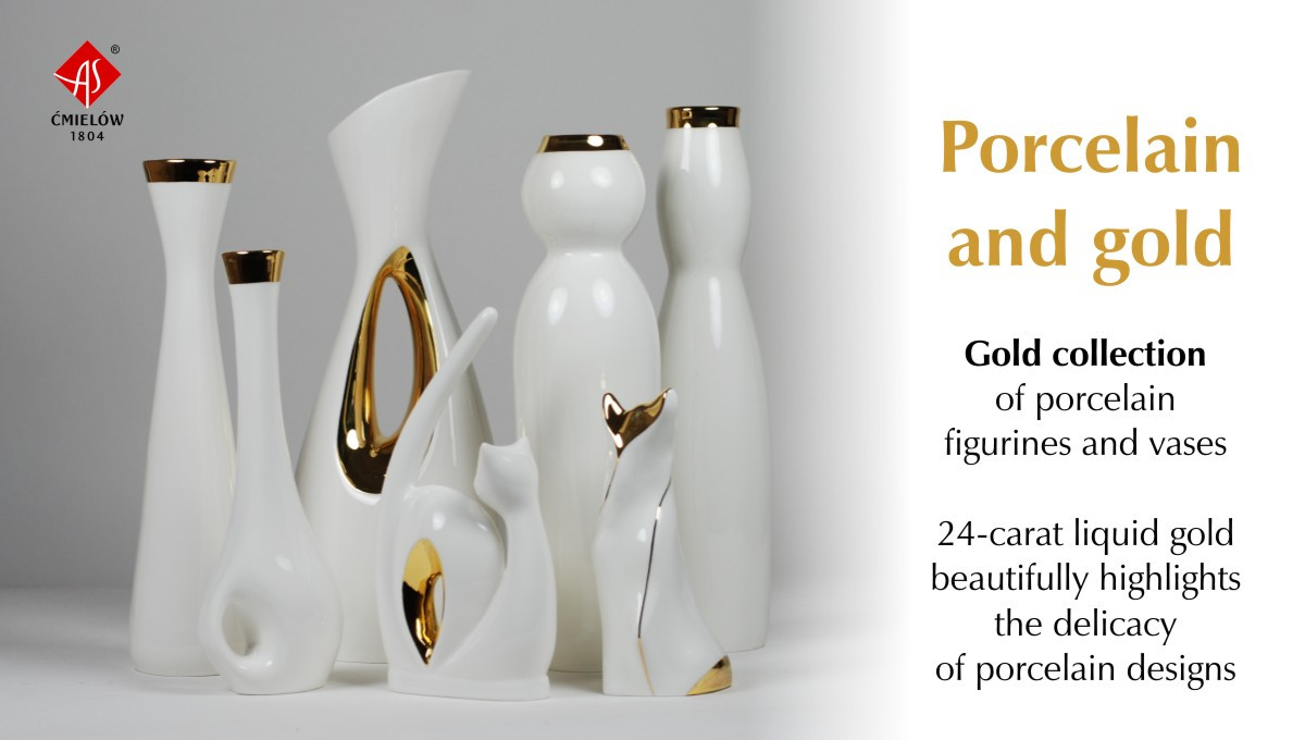 Porcelain and gold